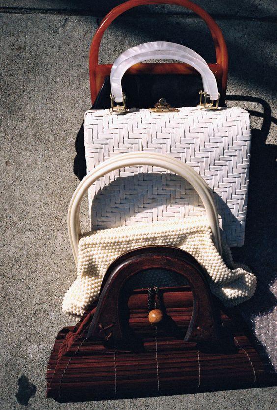 Vintage tortoise handle bag | Winter fashion street style | Girlfriend is Better