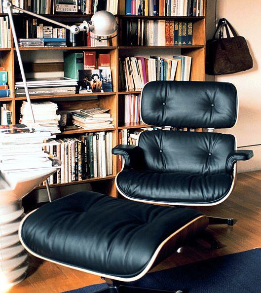 Eames Lounge Chair + Ottoman | Mid-century modern furniture | Girlfriend is Better