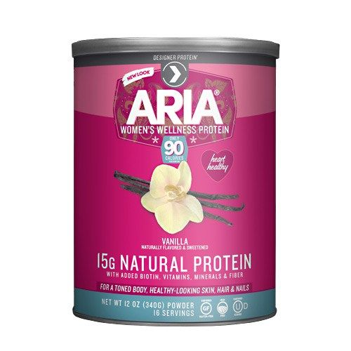 Aria Women's Wellness Protein powder | Green Smoothie recipe low glycemic | Girlfriend is Better