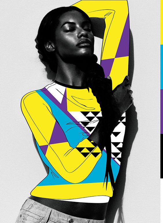 Sharam Diniz / 7 For All Mankind by Kervin Brisseaux   Digital artist   Girlfriend is Better