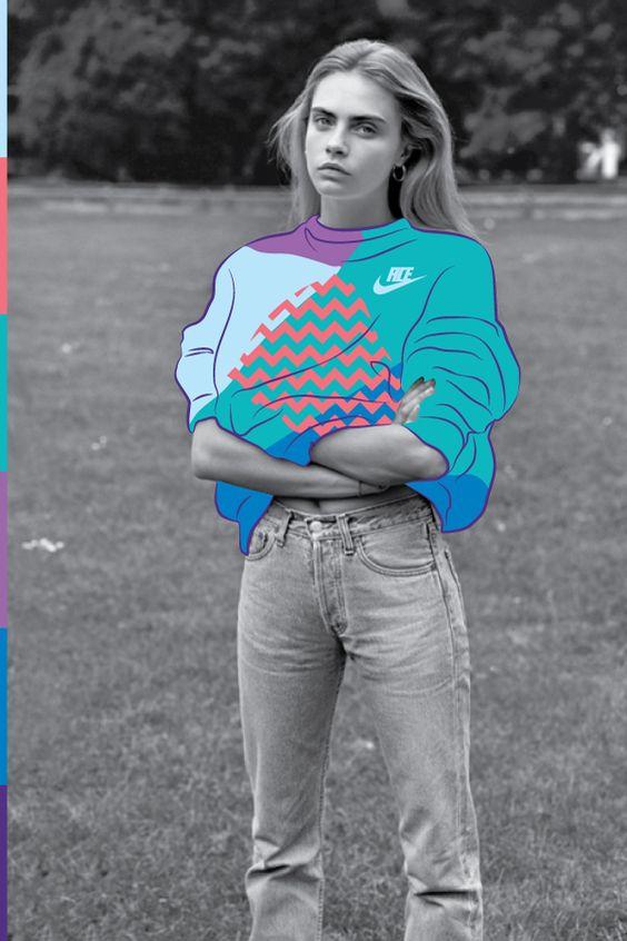 Cara Delevingne/ W Magazine by Kervin Brisseaux | Acid Fashion | Digital Artist | Girlfriend is Better