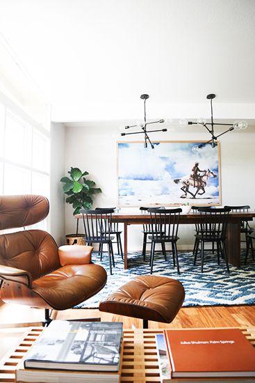 Eames Lounge Chair + Ottoman   Aquarius astrology home decor guide   Girlfriend is Better