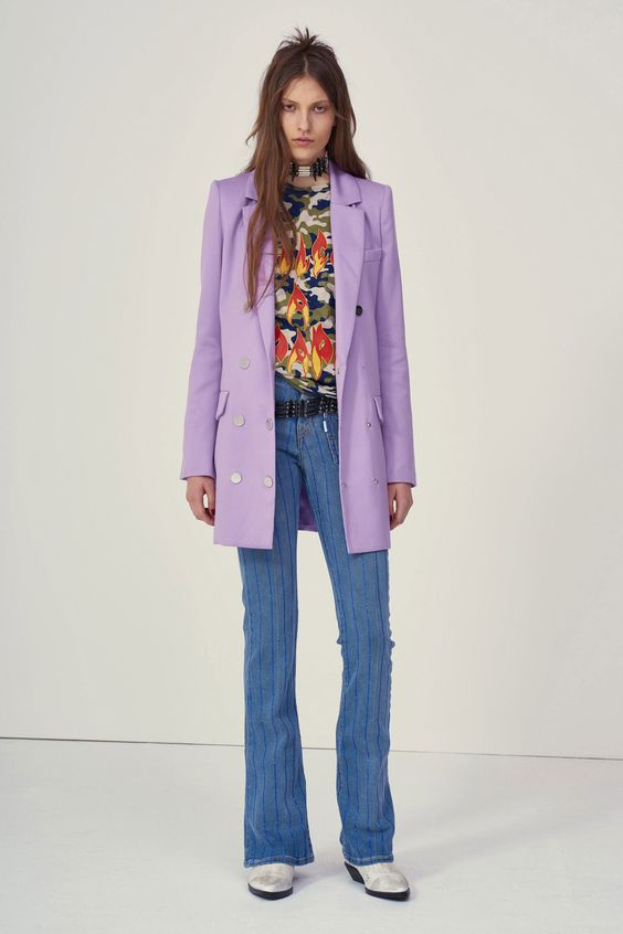 Double-breasted blazers   Filles à Papa Fall 2018   Girlfriend is Better