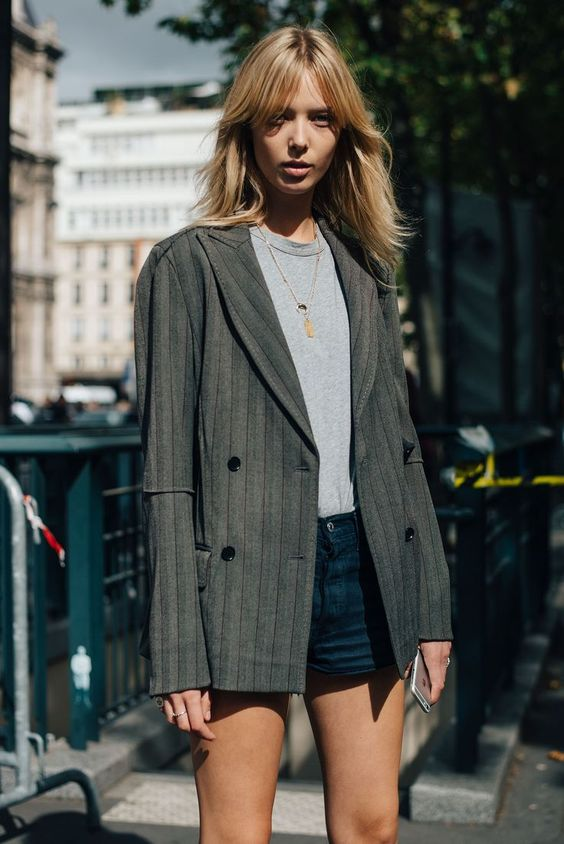 Double-breasted blazers   Paris Fashion Week