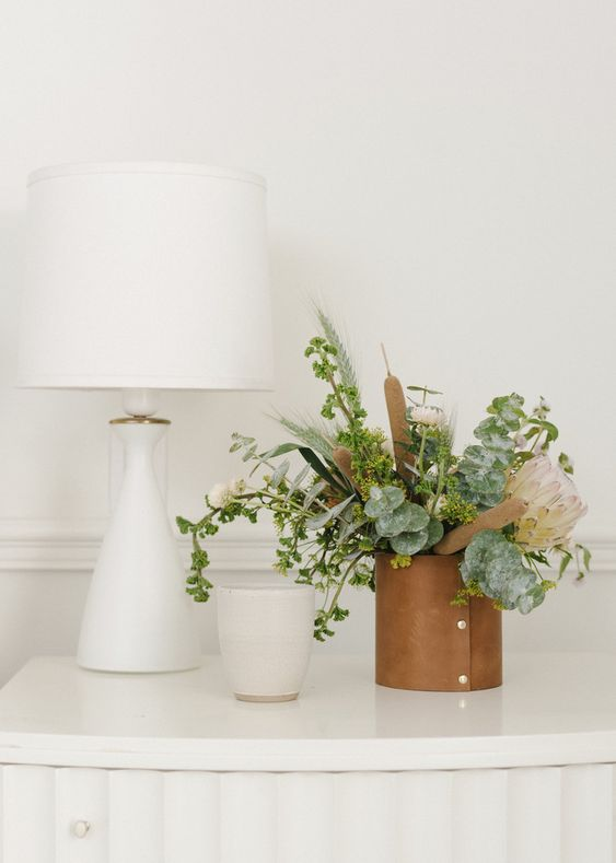 Spring Hygge decor   Simple greenery minimalism   Girlfriend is Better
