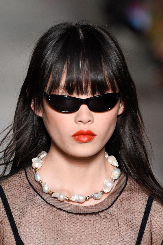 Sonia Rykiel kitten eye tiny sunglasses   Girlfriend is Better