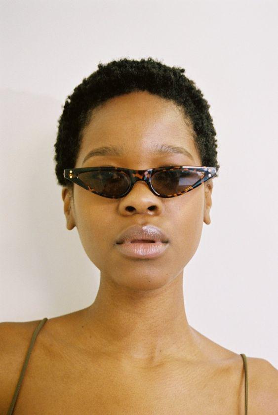 Tiny sunglasses   cat eye frames   Girlfriend is Better