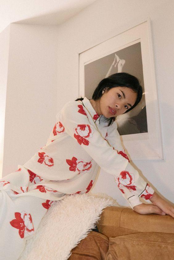 Valentine's Day fashion   Ganni Harley Crepe Dress   Girlfriend is Better