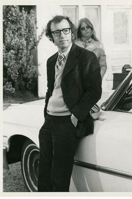 Woody Allen and Diane Keaton 1975   5 favorite movie reviews   Girlfriend is Better