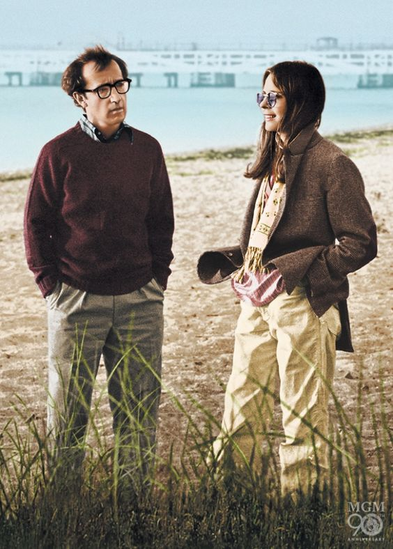 Woody Allen and Diane Keaton   Annie Hall   5 favorite movies review   Girlfriend is Better
