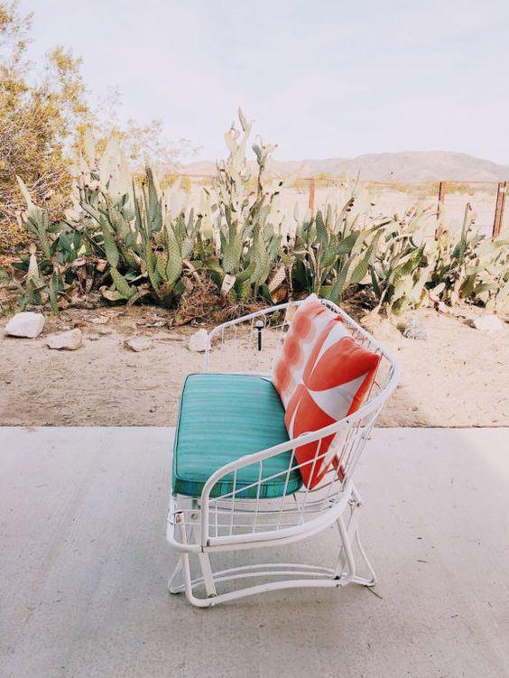 Aries astrology home decor | Homecrest vintage outdoor chair | Girlfriend is Better