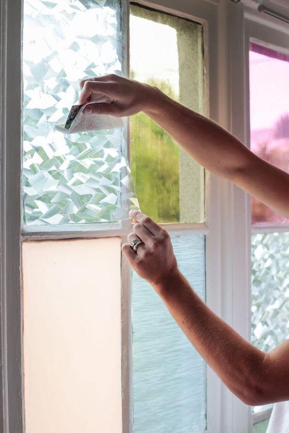 Stained glass DIY window film | Girlfriend is Better