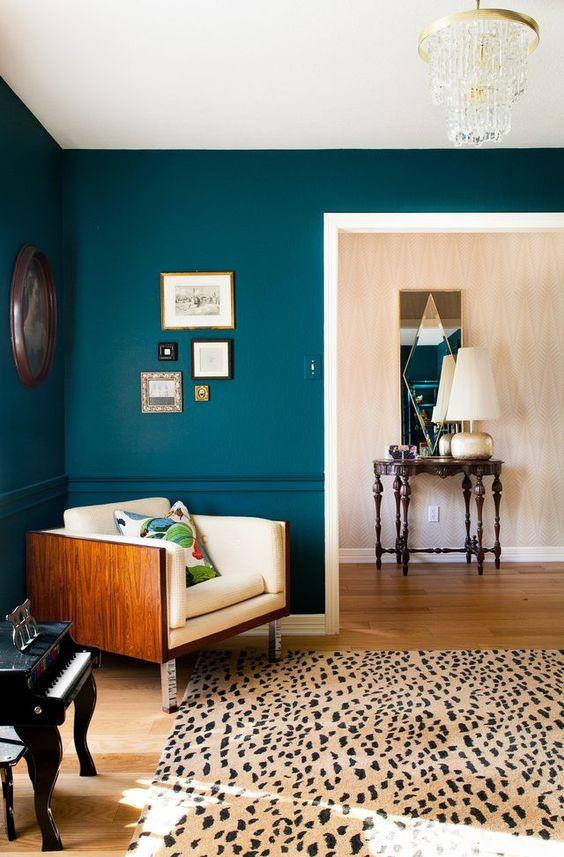 Area rugs living room vintage Danish rosewood sofa | Girlfriend is Better