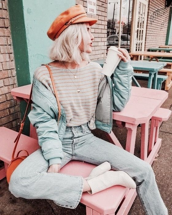 Berets and lieutenants caps | Spring fashion street style | Girlfriend is Better