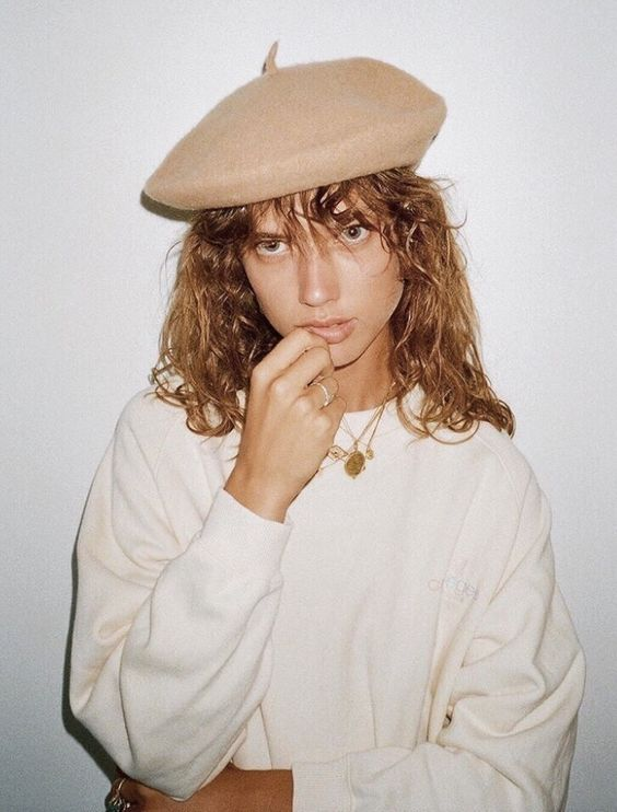 Berets and coin necklaces | French girl cool | Girlfriend is Better