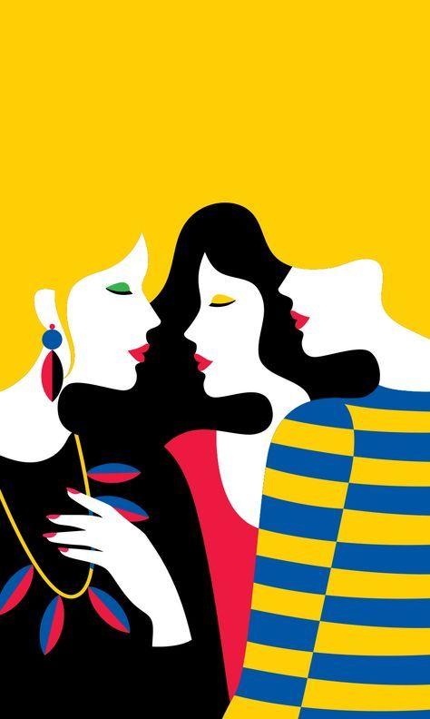 Malika Favre French Graphic Artist   Stokholm   Girlfriend is Better