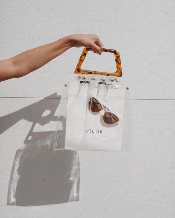 See through purses | Transparent tortoise shell bag | Girlfriend is Better