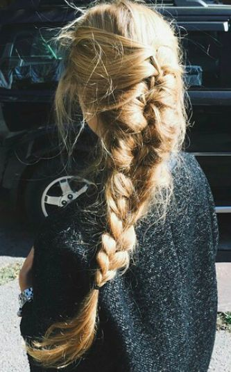 French braids summer hair style | Girlfriend is Better