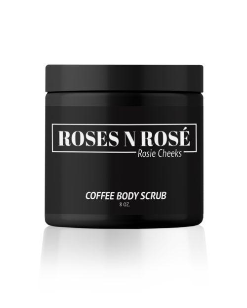 Chanté Gernertt | Roses N Rose Rosie Cheeks Coffee Body Scrub | Girlfriend is Better