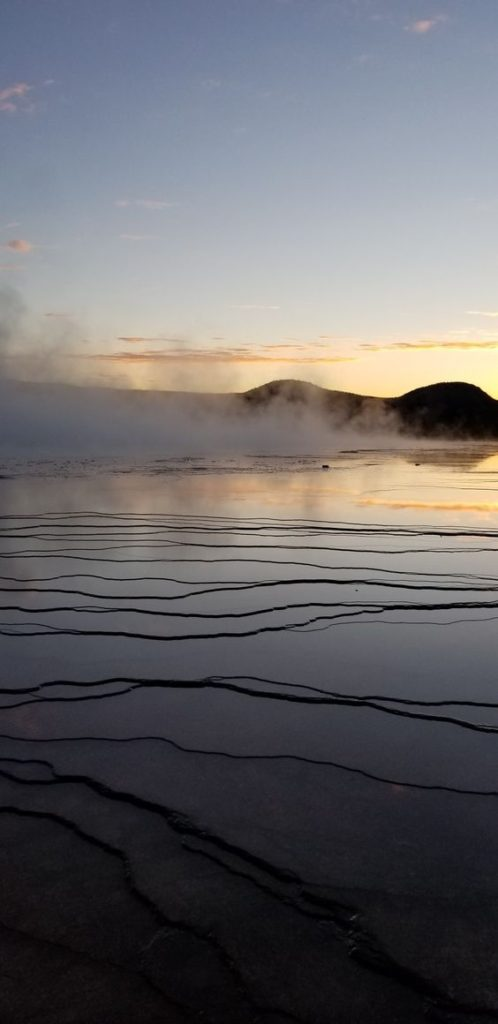 Grand Prismatic Overlook   Yellowstone National Park travel guide   Girlfriend is Better