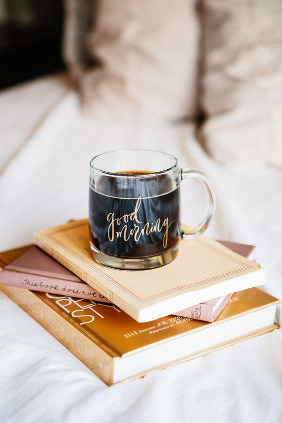 Summer Hygge coffee books bedroom cozy | Girlfriend is Better