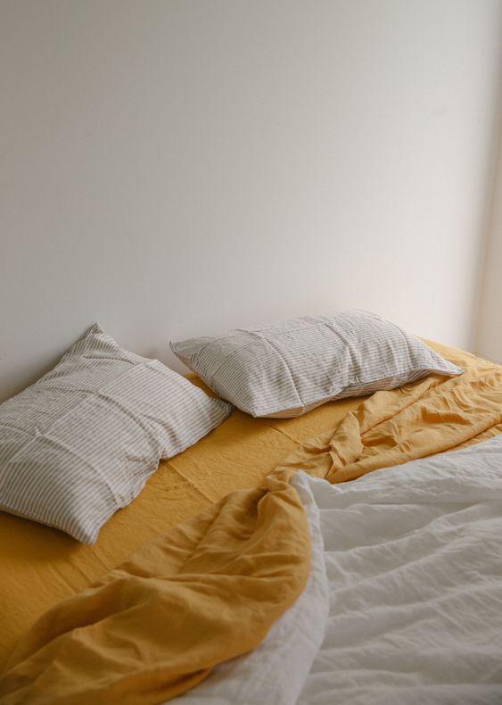 Linen bedding   sheets pillow cases blanket   Girlfriend is Better