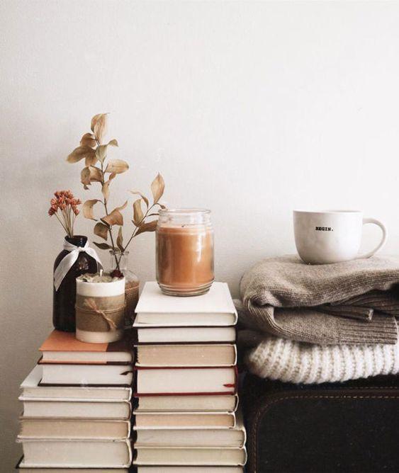 Virgo astrology home decor guide | hygge books blankets coffee cozy | Girlfriend is Better