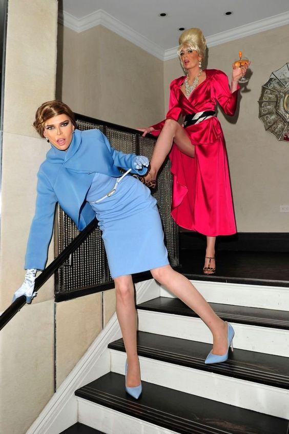 celebrity Halloween costumes   Melania & Ivana Trump   Girlfriend is Better