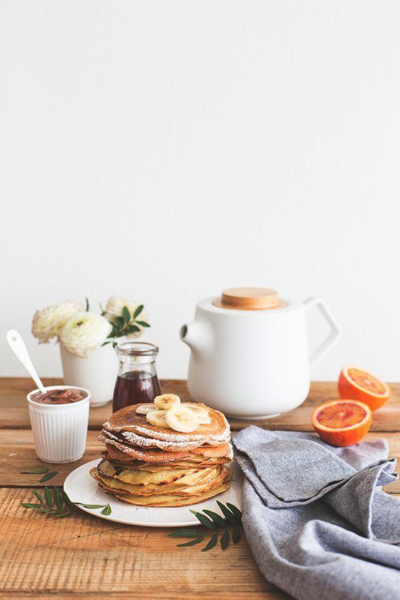 Fall Hygge breakfast crepes simple abundance | Girlfriend is Better