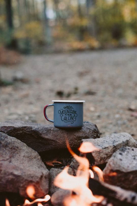 Union Creek Campground Oregon   coffee camp fire   Girlfriend is Better