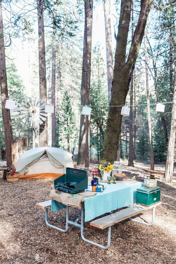 Union Creek Campground Oregon | tents camping | Girlfriend is Better