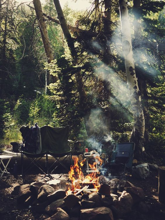 Union Creek Campground Oregon | bonfire forest camping guide | Girlfriend is Better