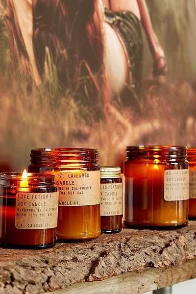 fire element Feng Shui | orange glass candle hygge | Girlfriend is Better