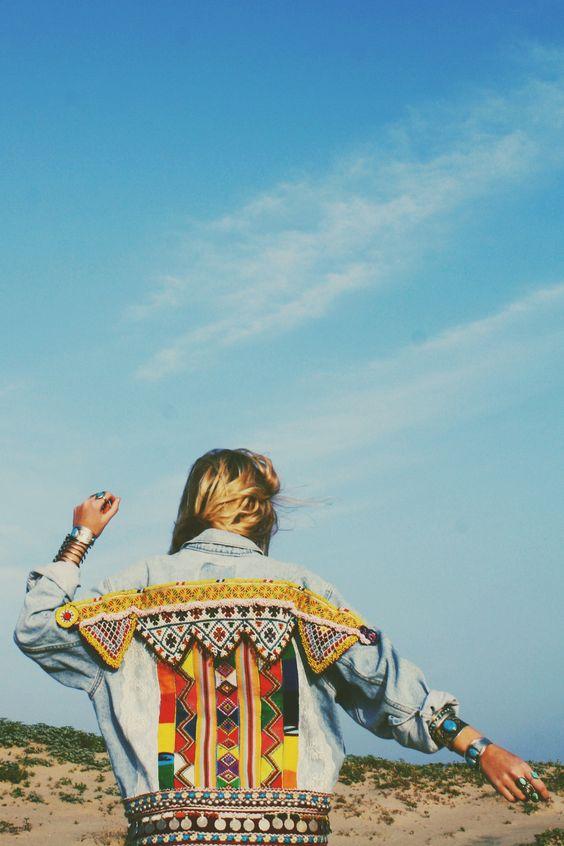 Southwestern jackets | embellished denim | Girlfriend is Better
