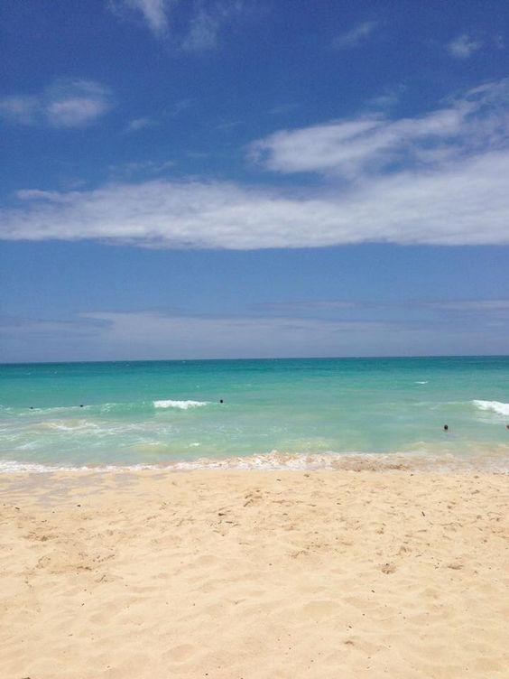 Oahu Hawaii Sherwood Beach   Girlfriend is Better