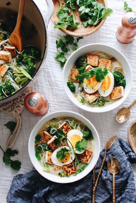 winter soup recipes | Somen Noodle Tofu vegetarian | Girlfriend is Better