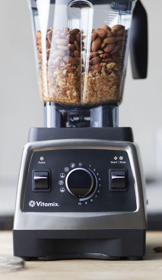 Alternative Nut Butters   almonds Vitamix blender vegan recipe   Girlfriend is Better