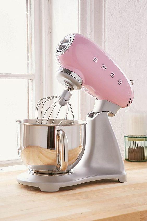 SMEG | Pink stand mixer | Girlfriend is Better