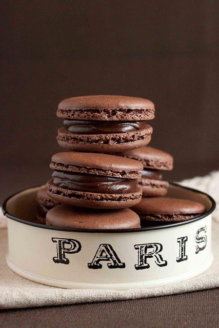 Macaron | chocolate stacked | Girlfriend is Better