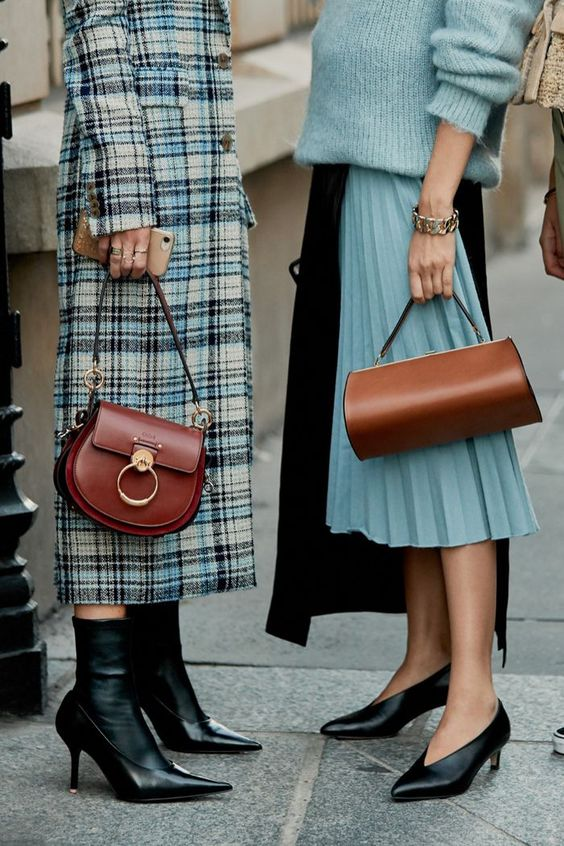 winter accessories | small tan saddle bag purse structured | Girlfriend is Better