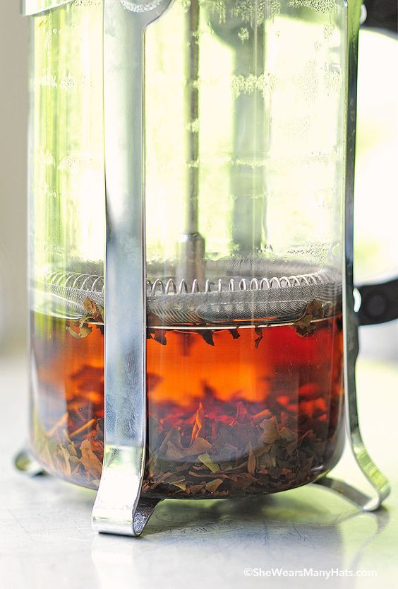 Home Tea Blends   French press herbal hot beverage recipes   Girlfriend is Better