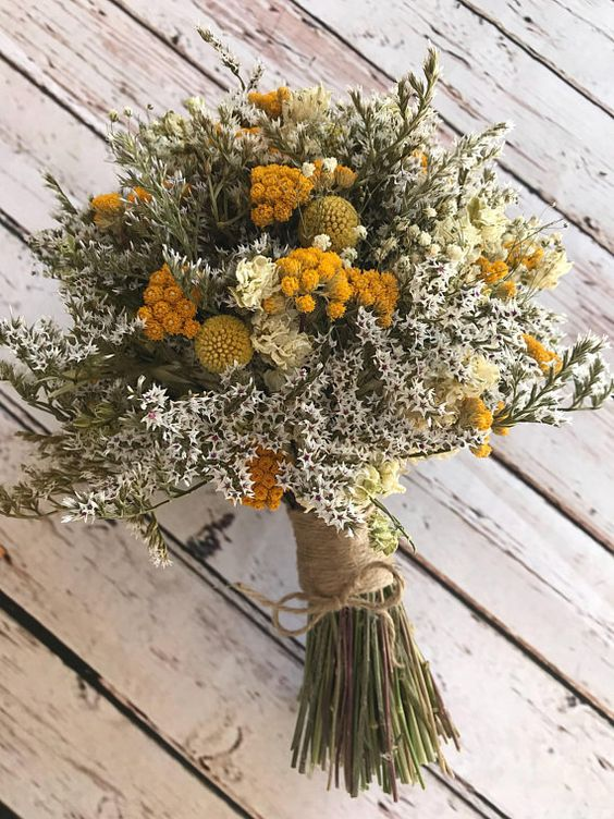 Preserved Bouquets   Dry wild flower bouquet   Girlfriend is Better