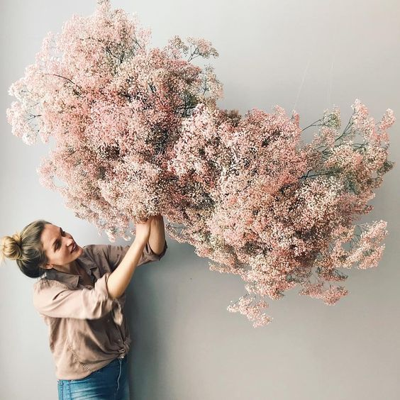 Preserved Bouquets   Hanging dried wild flowers   Girlfriend is Better