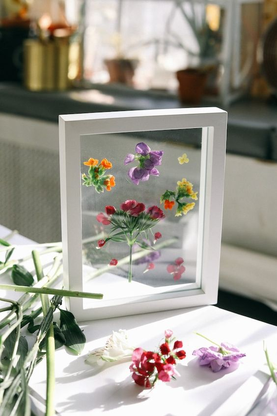 Preserved Bouquets   Framed pressed flowers   Girlfriend is Better