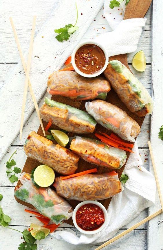 Spring Rolls | Pad Thai healthy recipe | Girlfriend is Better