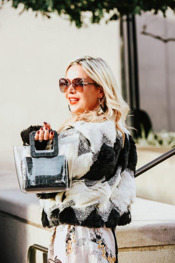 Top Handle Purses   Clear black purse   Girlfriend is Better