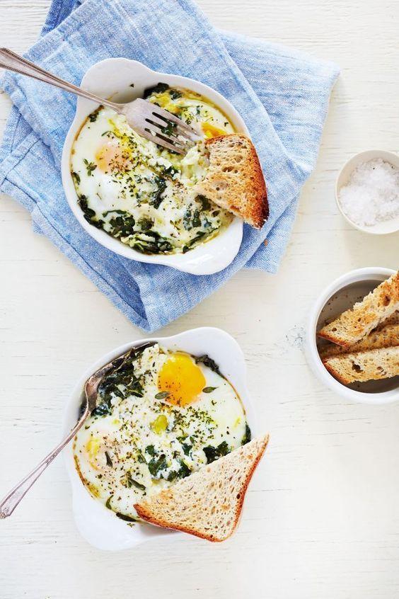 breakfast bites | Baked Egg Ricotta, Thyme & Chervil recipe | Girlfriend is Better