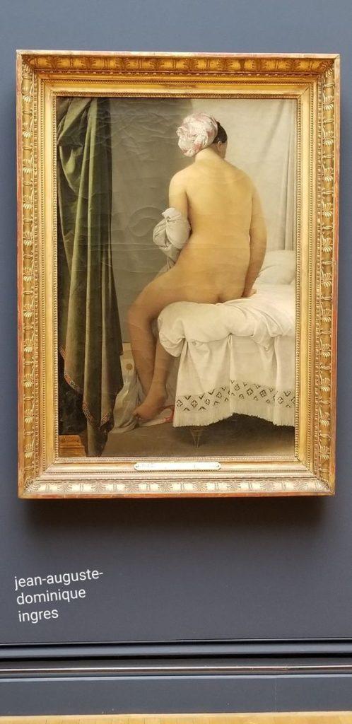 Paris 2nd arrondissement | Louvre Museum art | La Grande Baigneuse (The  Valpinçon Bather) by  Jean Auguste Dominique Ingres | Girlfriend is Better