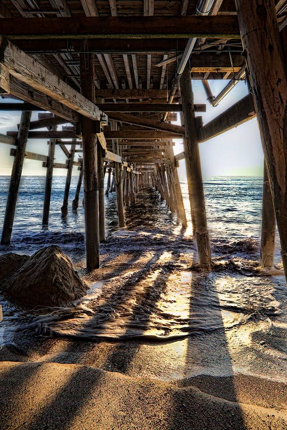 San Clemente | scenic pier T-Street beach sunset | Girlfriend is Better