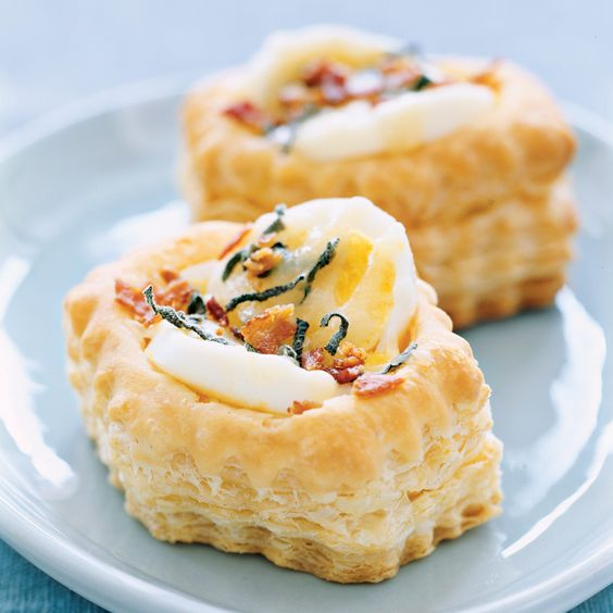 small meals | 5 minute mini quiches eggs fontina cheese puff pastry | Girlfriend is Better